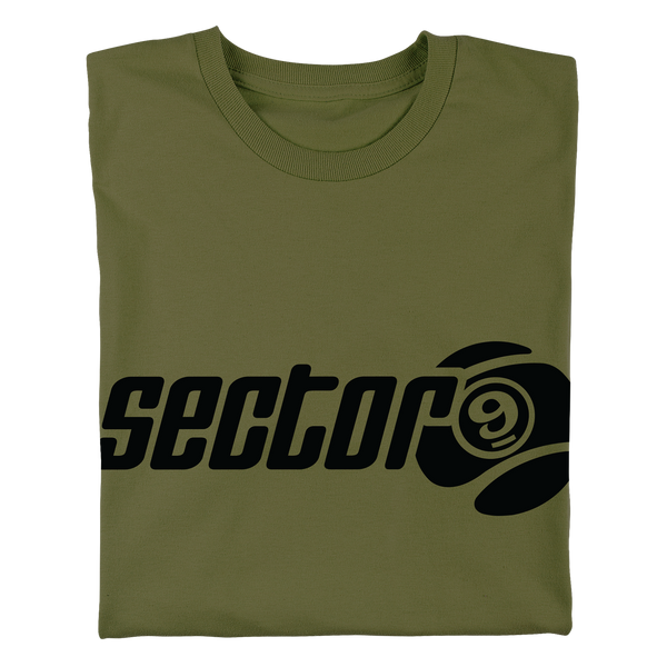 Bar Logo Tee Army Green