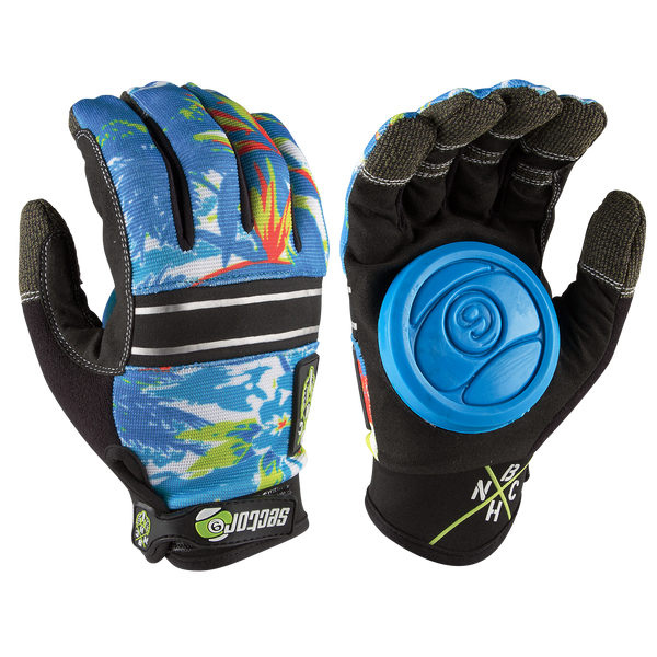 BHNC SLIDE GLOVES - HAWAIIAN