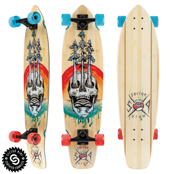 Sector 9 Skateboards  Longboard Decks - Completes - Trucks - Wheels e2fd9210db