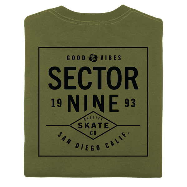 DAYBREAK TEE ARMY GREEN