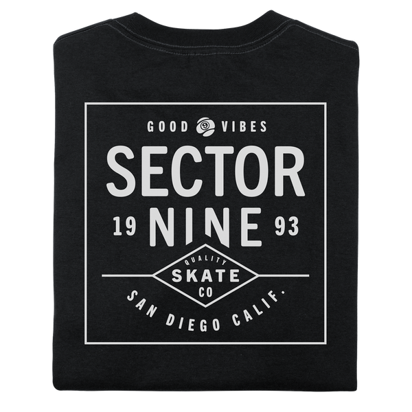 DAYBREAK TEE BLACK