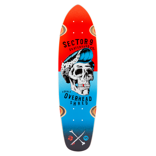 Hair Barrel Hopper Deck Red