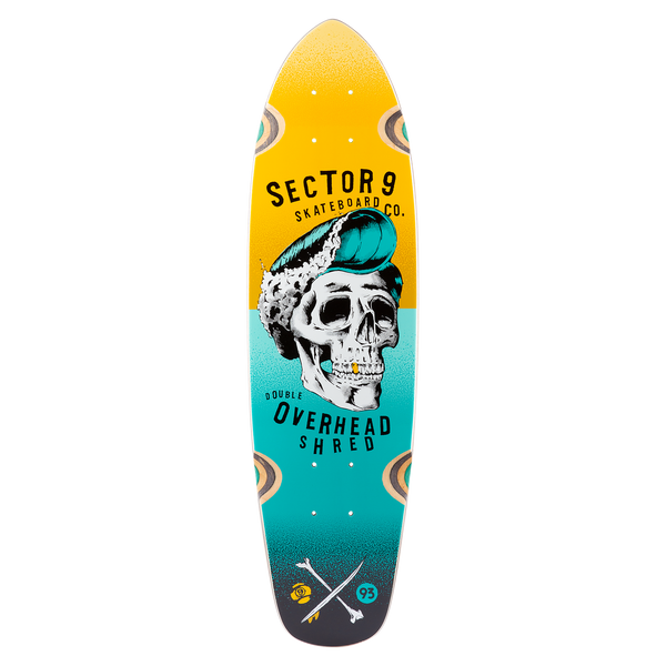 Hair Barrel Hopper Deck Yellow