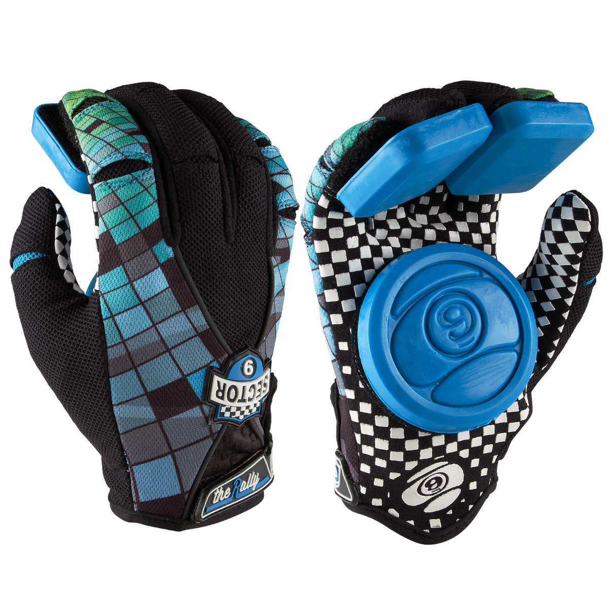 RALLY YOUTH SKATE GLOVES COSMOS