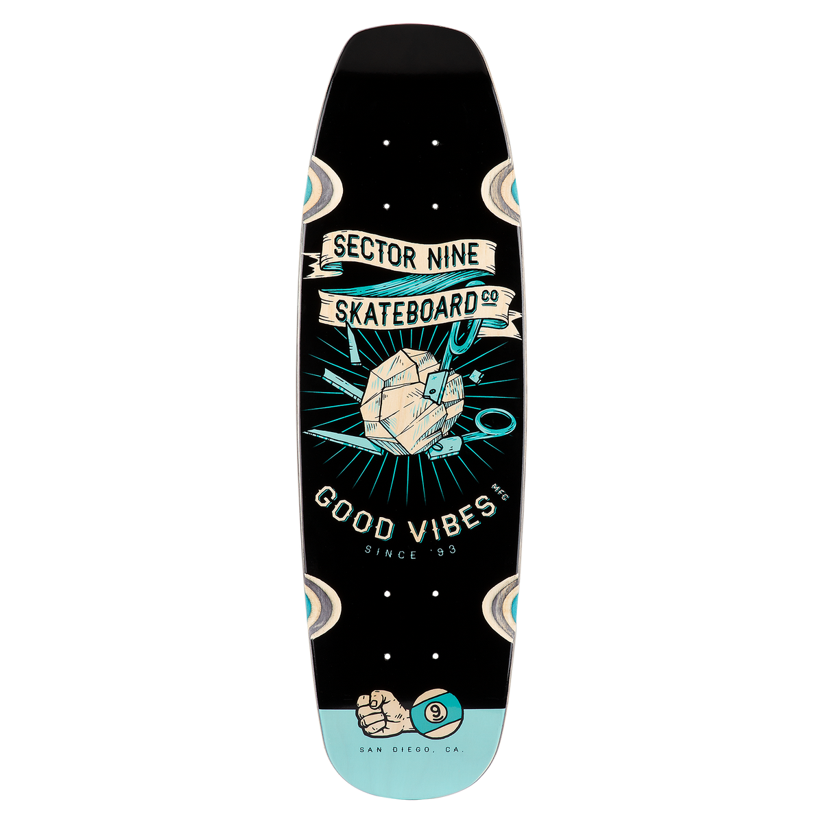 Roshambo Bat Ray Cruiser Deck