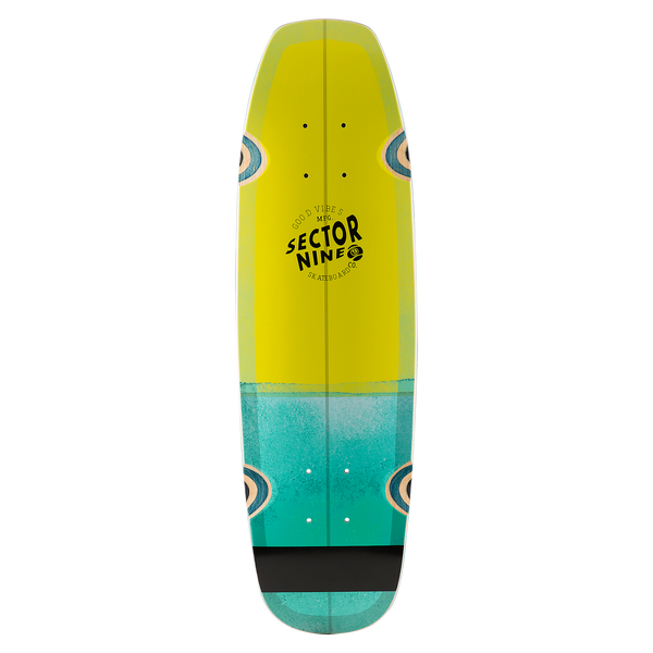 BAT RAY DECK LIME
