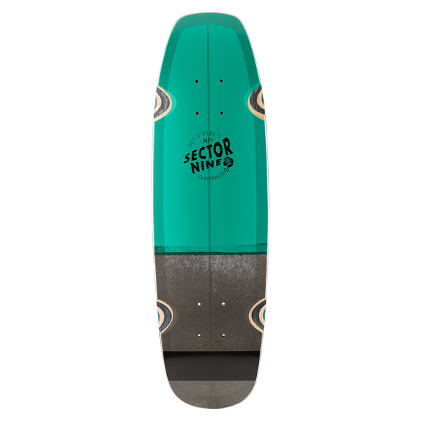 BAT RAY DECK TEAL