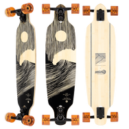 Sector 9 Shoots full moon: quality longboard for slalom