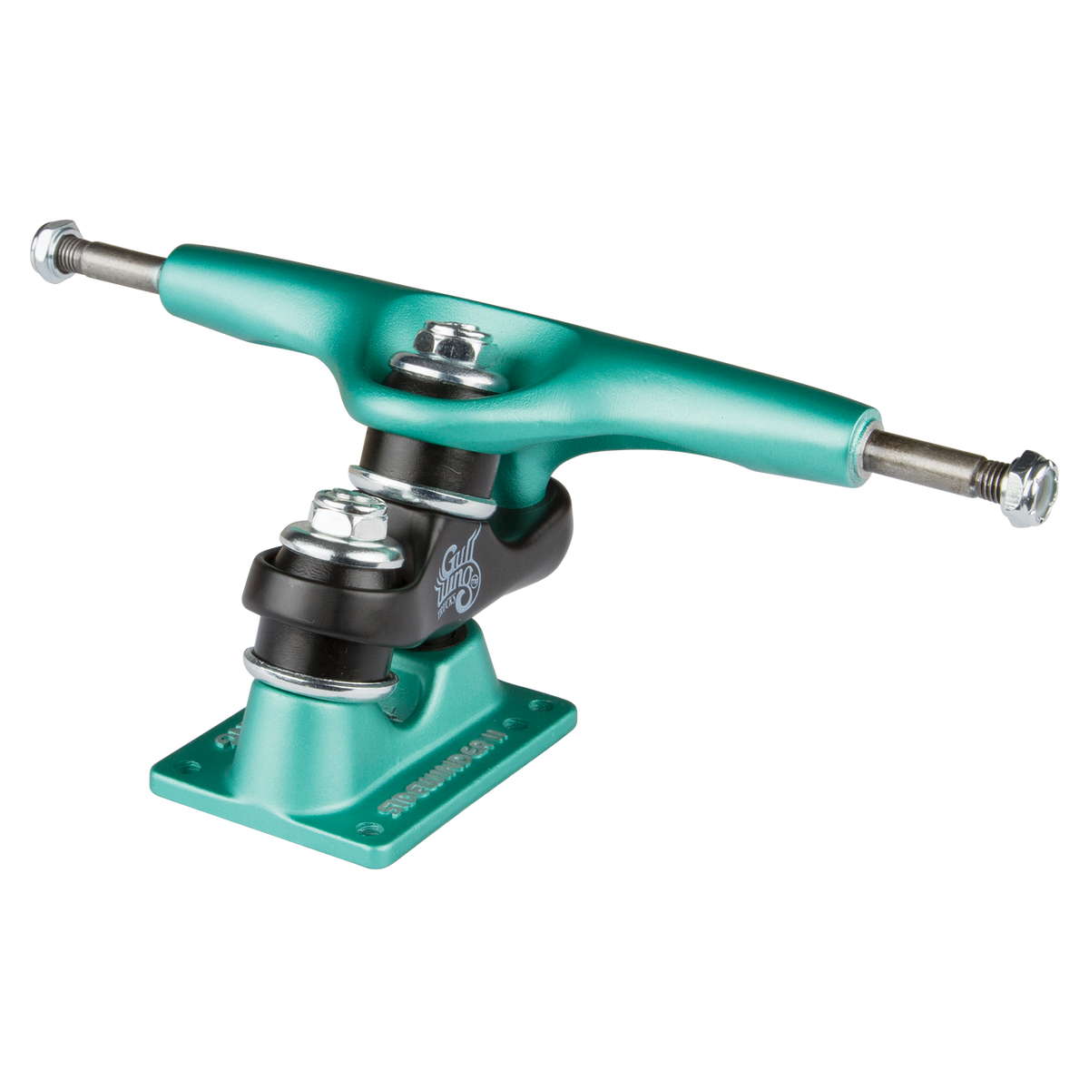 "10.0"" Gullwing Sidewinder II Aqua Single Truck"