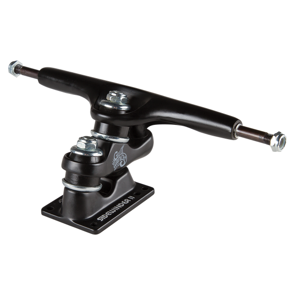 "9.0"" Gullwing Sidewinder II Black Single Truck"