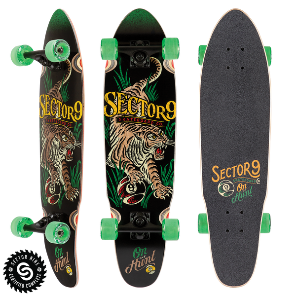 Stalker Rasta Native Cruiser Skateboard