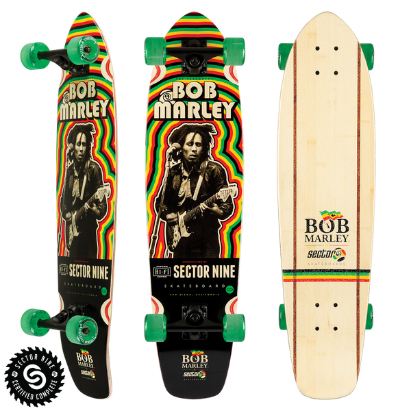 Trenchtown Rock Bamboo Skateboards