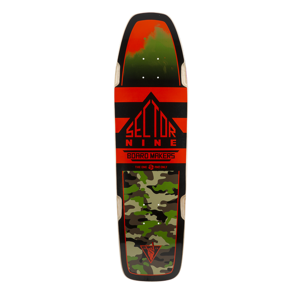 NINETY FIVE CRUISER SKATE DECK RED