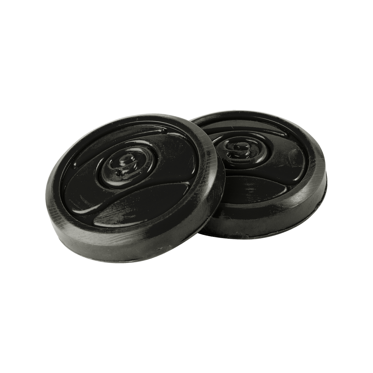 9 Ball Pucks Black