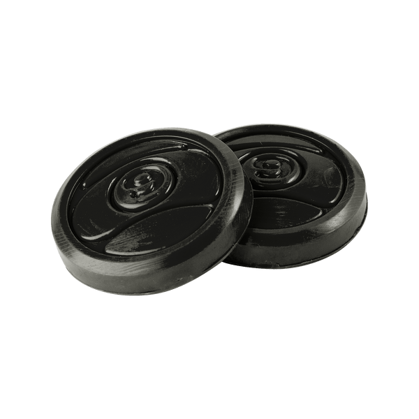 2 CIRCULAR PUCK PACK - BLACK