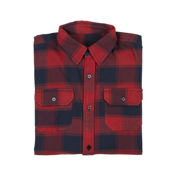 Islay Flannel Red