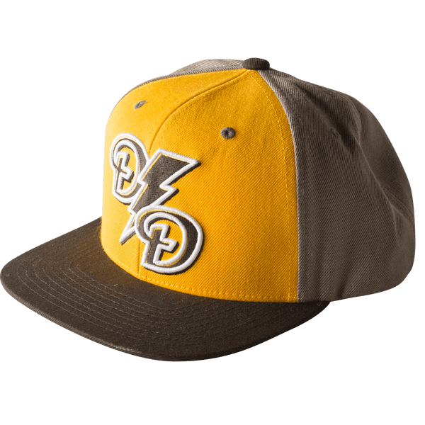 Lightning Snapback Yellow