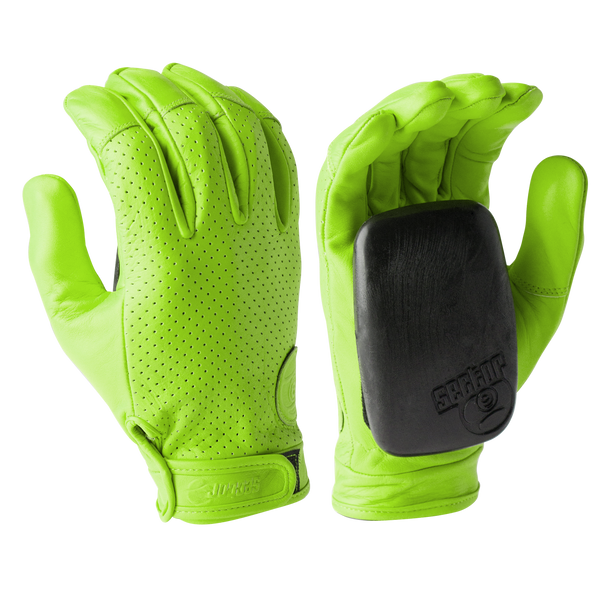 DRIVER II GLOVES - GREEN