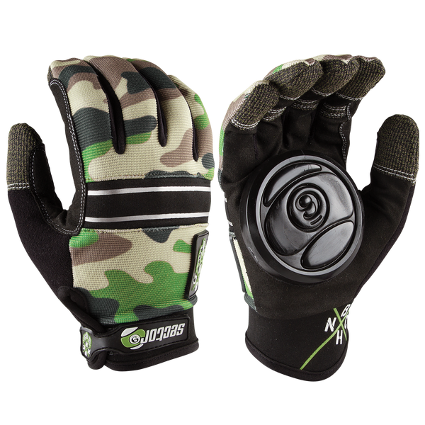 BHNC SLIDE GLOVES - CAMMO