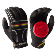 BHNC SLIDE GLOVES - RASTA