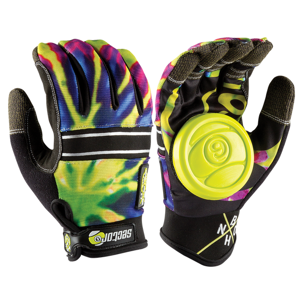 BHNC SLIDE GLOVES - LIMEBURST