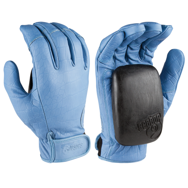 DRIVER II GLOVES - LIGHT BLUE
