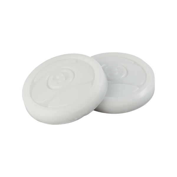 2 CIRCULAR PUCK PACK - WHITE