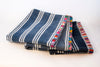Table Top Cloth Cotton Artisanal Colors Blue Handmade