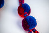 Pompom Artisanal Handmade Accessory Cotton Colors