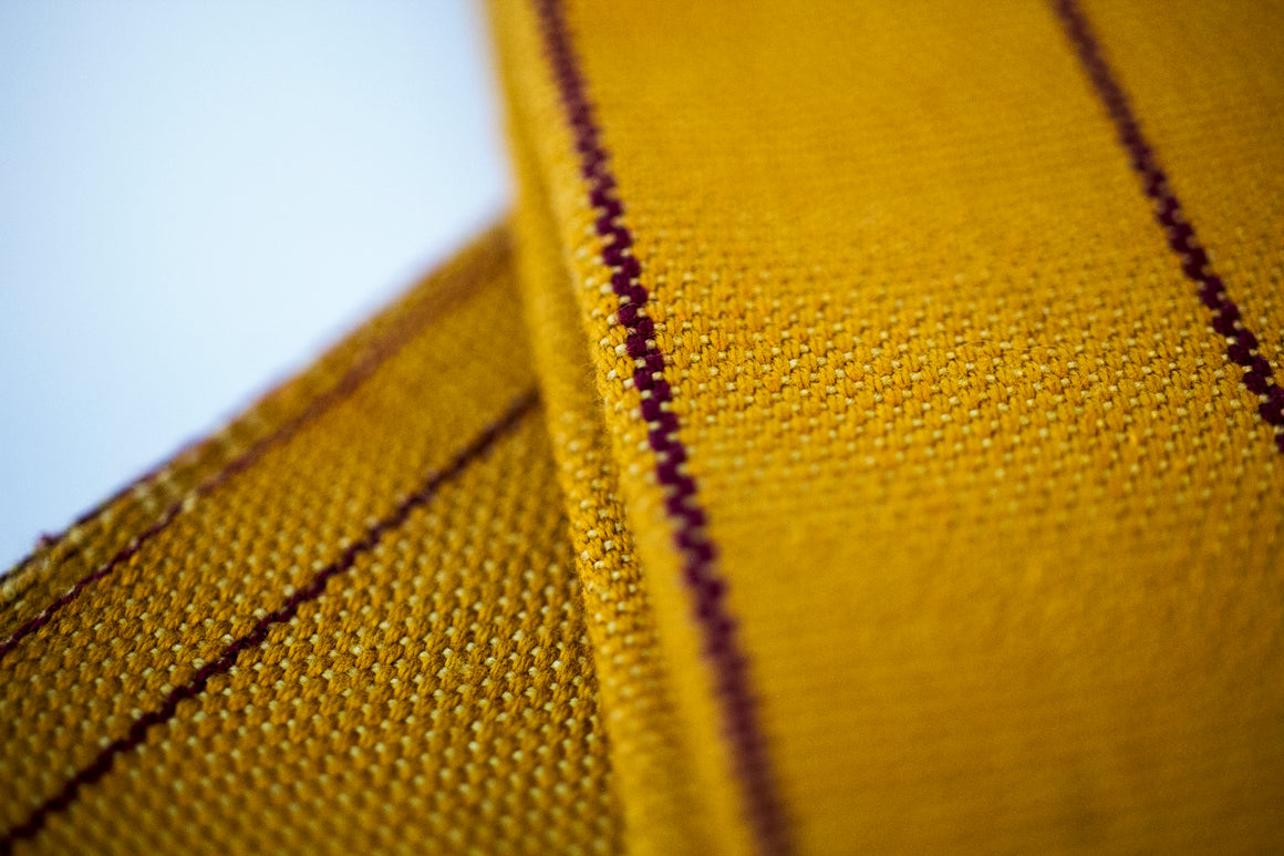 Table Napkin Cloth Cotton Artisanal Yellow