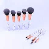 Professional Marble Makeup Brush Set
