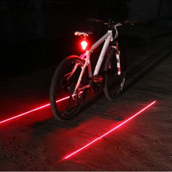 Laser Trail Bike Light