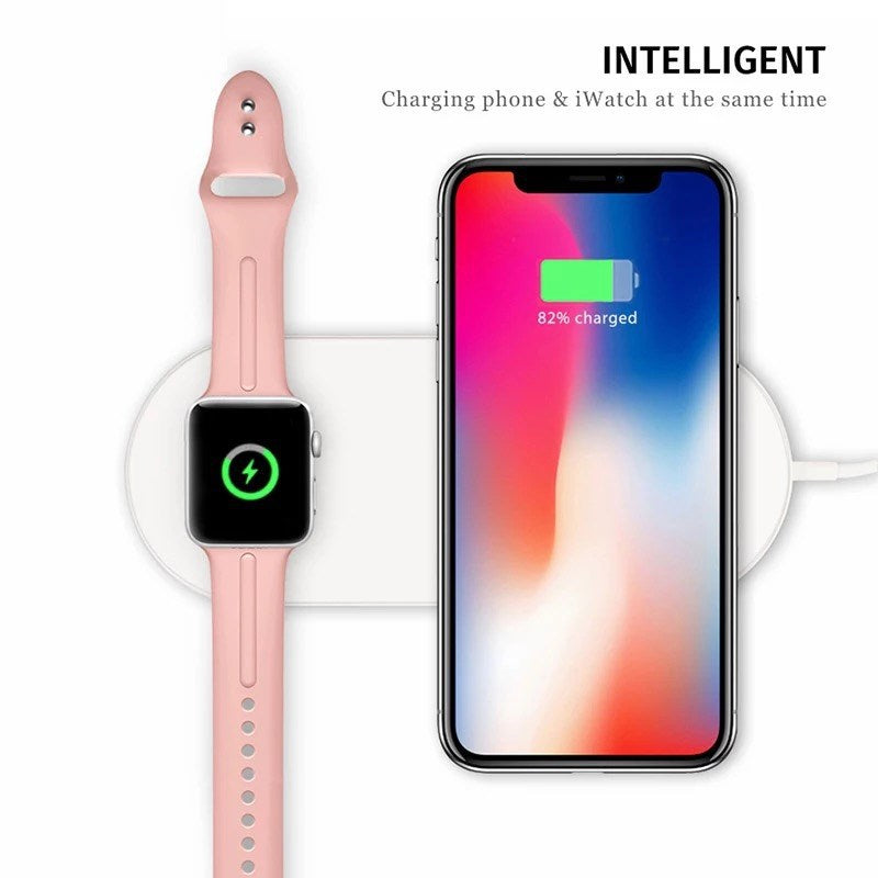 Wireless Charger Pad For iPhone Xs/Xs Max/Xr/Apple watch