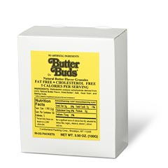 Butter Buds® - Box of 50 Packets - Case of 12 Boxes