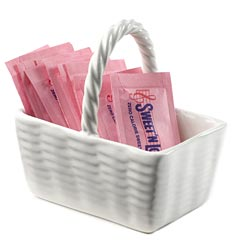 Sweet'N Low® Ceramic Basket
