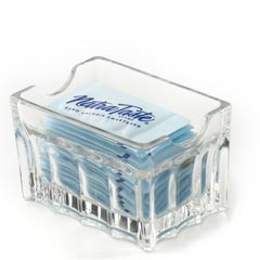 NatraTaste Crystal Packet Holder - 3 Packet Holders