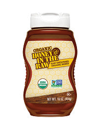 Organic Honey in The Raw® 16oz Bottle - Case of 6