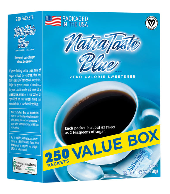 NatraTaste Blue® Packets - 2 Boxes