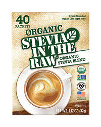 Organic Stevia In The Raw ® 40 CT Box - Case of 6 Boxes