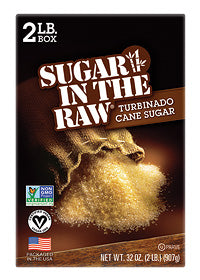 Sugar In The Raw® Bulk - 2 Boxes (2 lb. each box)