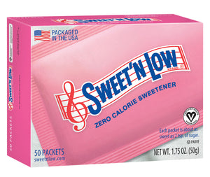 Sweet'N Low® - 50 Packets - Case of 12 Boxes