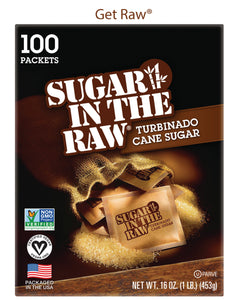 Sugar In The Raw® Packets - Case of 8 boxes