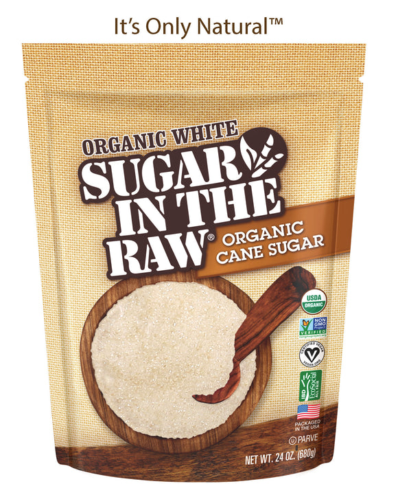 Sugar In The Raw® Organic White 24oz Case (8 Bags)