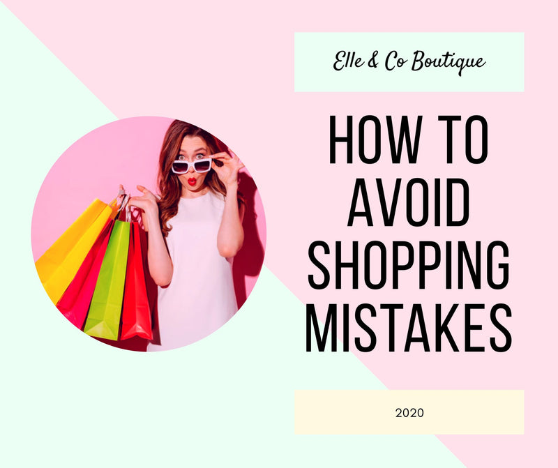 How to Avoid Shopping Mistakes