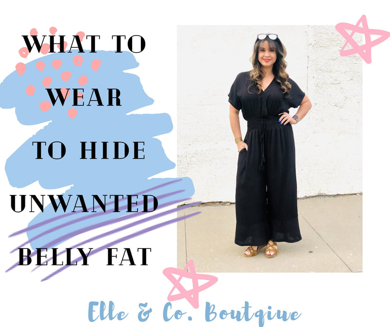 What to Wear to Hide Unwanted Belly Fat