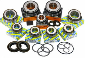 Fiat Croma M32 Gearbox OEM Uprated Bearing & Seal Rebuild Kit - 9 Bearings