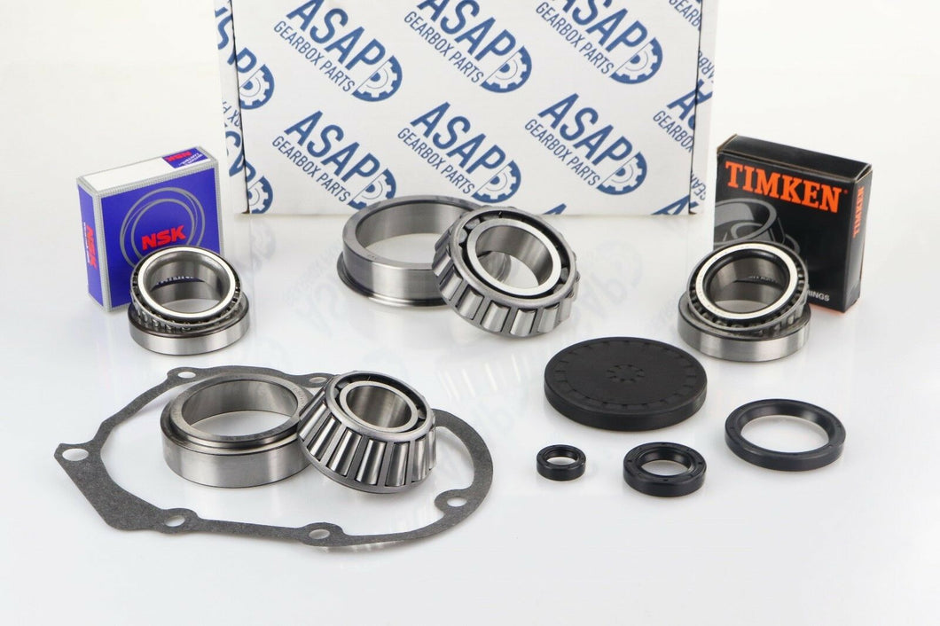 VW Passat 6 Speed 01E Gearbox OEM Bearing & Oil Seal Rebuild Kit 2000 - 2004