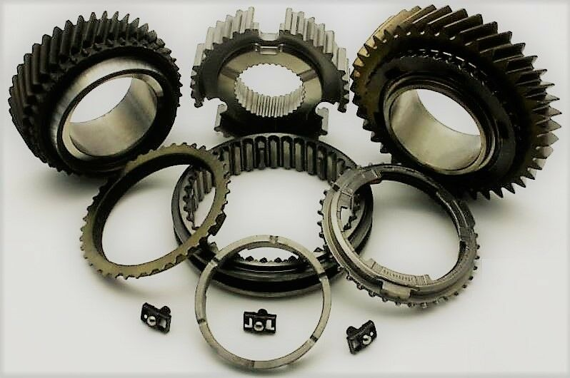 Renault Trafic & Master PF6 Gearbox OE 3rd & 4th Gear Syncro Hub Kit 40/43 Teeth