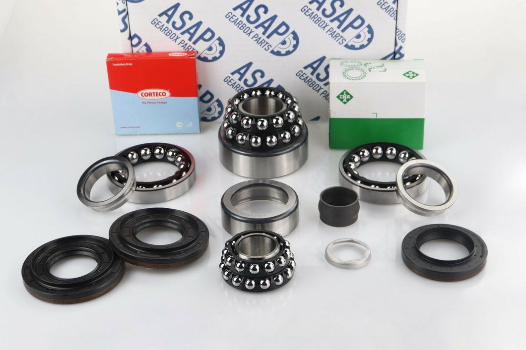 BMW 3 Series Type 188 Rear Differential OEM Bearing & Seal Rebuild Kit (8 Bolt)