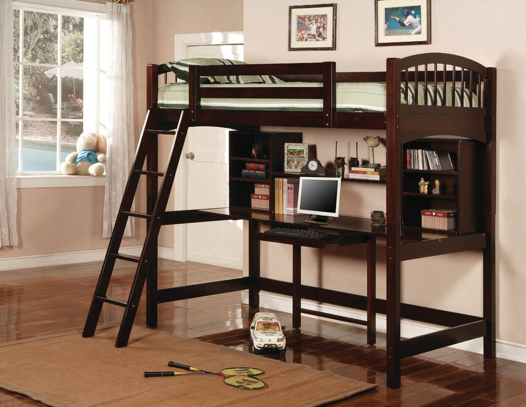 Niva Twin Workstation Bunk Bed
